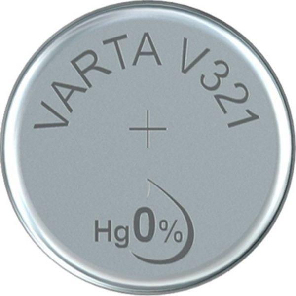 Silberoxid-Knopfzelle Typ SR616 / V321 von Varta